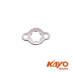 Plaque de fixation pignon sortie de boite quad KAYO
