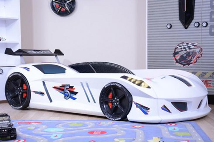 Lit voiture enfant LED Speedy Boy