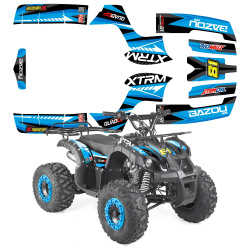 Pièces quad et buggy  Kit deco quad BAZOU 125