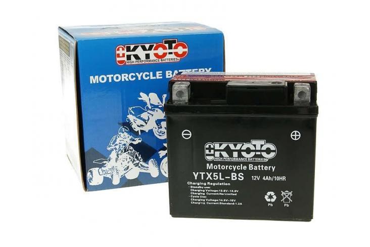 Batterie quads 110cc et quad 125cc