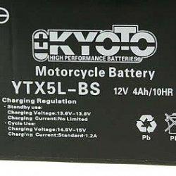 Batterie 12V 4Ah quads 110cc & 125cc