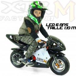 Moto enfant électrique Pocket moo enfant de course électrique 350W