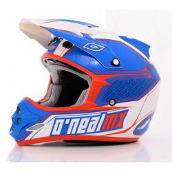 Casques Cross Adulte Casque O'Neal 709R Series Bleu/Rouge/Blanc