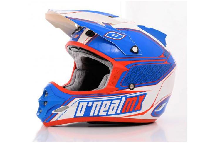 Casque O'Neal 709R Series Bleu/Rouge/Blanc