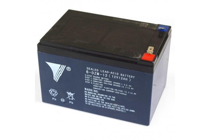 Batterie 12V 12Ah avec cosses pour pocket