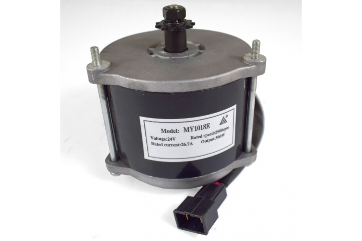 Moteur électrique 500 Watts 24 V aimant permanent