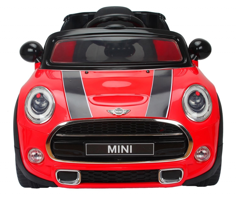 voiture mini cooper enfant avec lecteur mp3 et t l commande. Black Bedroom Furniture Sets. Home Design Ideas
