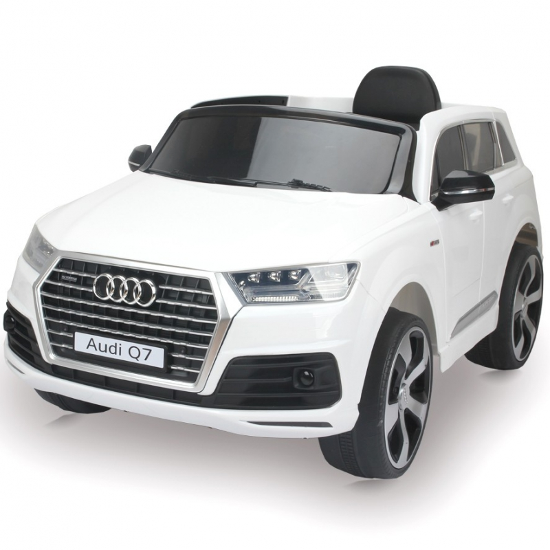 mini voiture lectrique pour enfant audi q7 t l commande et mp3. Black Bedroom Furniture Sets. Home Design Ideas