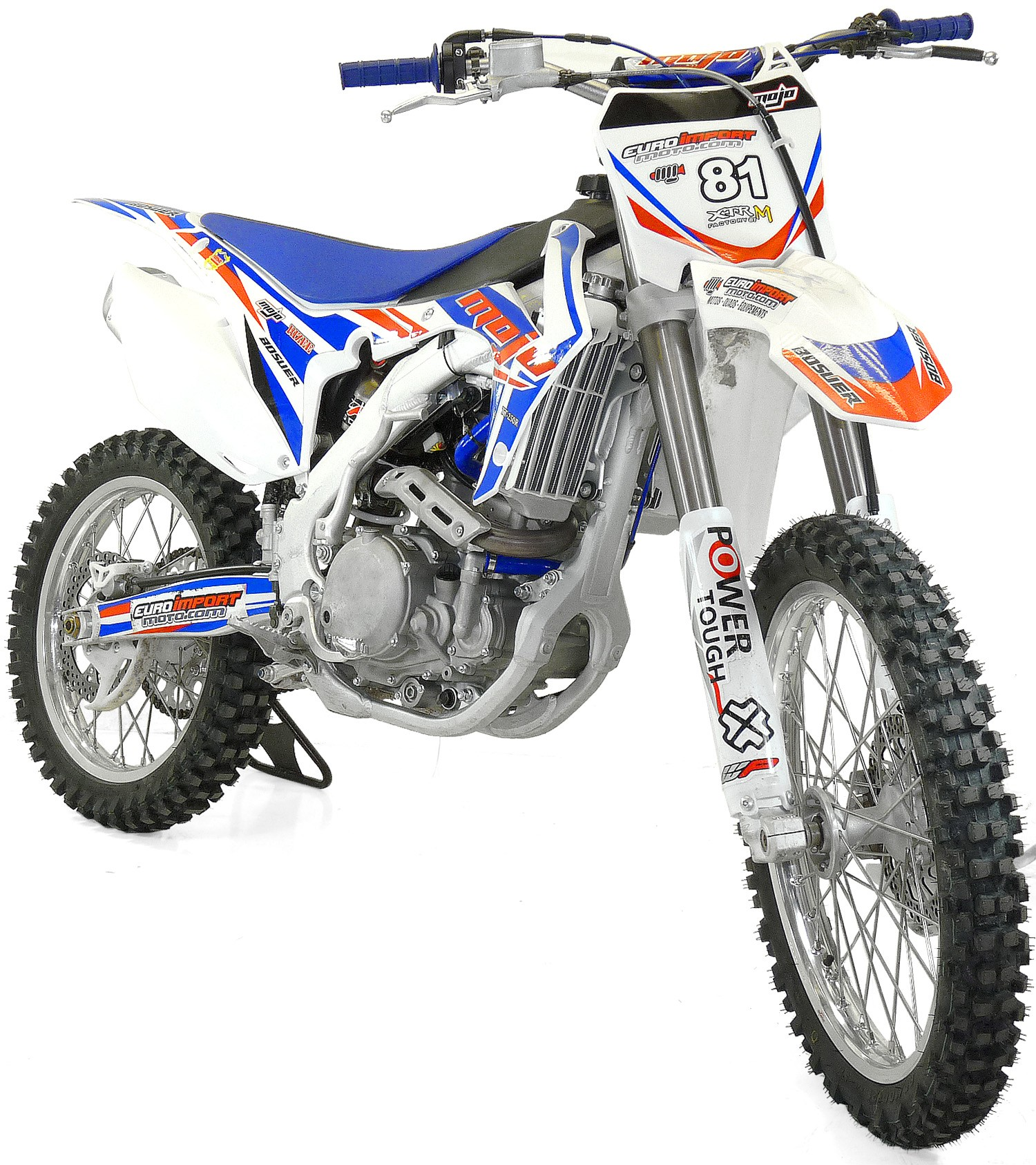 Moto cross 250cc cadre renforcé jante alu