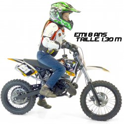 Dirt Bike / Moto Cross 50cc Moto cross enfant 50cc 2T Roues 14/12