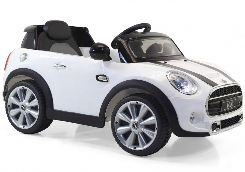 voiture mini cooper enfant avec lecteur mp3 et t l commande. Black Bedroom Furniture Sets. Home Design Ideas