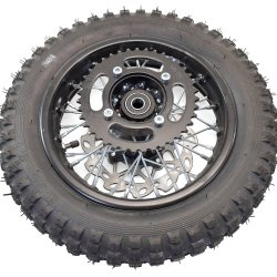 """Roue arrière 10"""" complète Dirt pneu 3.00/100"""