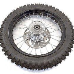 """Roue avant Dirt 12"""" complète pneu 60/100"""