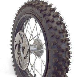 """Pièces Dirt bike Roue avant Dirt 12"""" complète"""