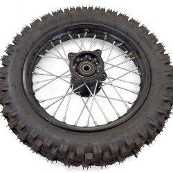 """Roue avant 12"""" complète pneu 80/100"""