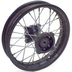 """Pièces Dirt bike Roue arrière nue 12"""" Dirt 110cc"""