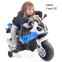 Mini moto électrique pour enfant BMW S 1000RR