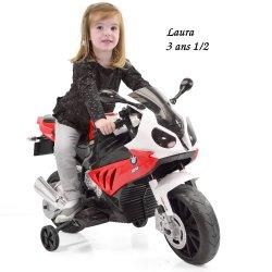 Mini voiture Mini moto enfant electrique BMW S 1000RR