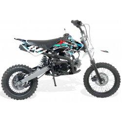 Dirt bike / Moto cross 110cc Dirt 110cc 4T roues 14/12 boite Semi-auto