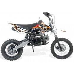Dirt bike enfant 110cc 14/12 - boite Semi-auto 4T