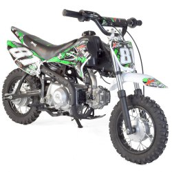 90cc Dirt bike et Moto cross enfant Dirt bike enfant 90cc 4T semi-auto
