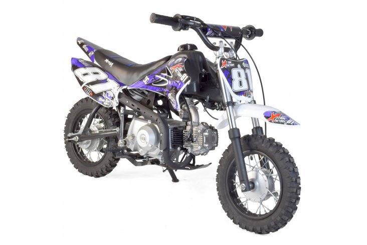 Dirt bike enfant 90cc 4T semi-auto