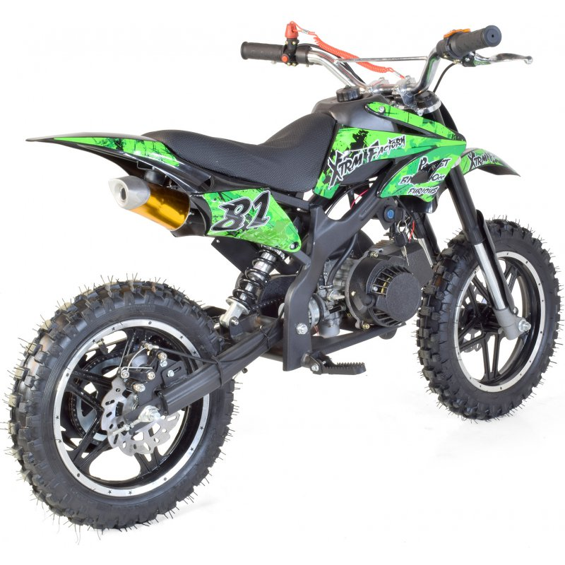 pocket bike moto cross 50cc 2t grandes roues. Black Bedroom Furniture Sets. Home Design Ideas