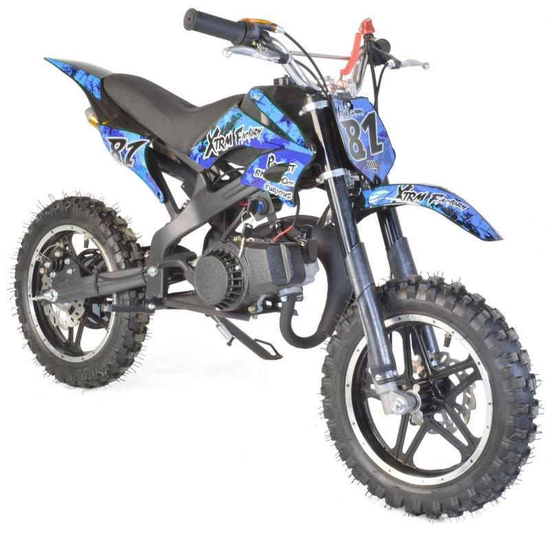 pocket bike moto cross 50cc 2t grandes roues. Black Bedroom Furniture Sets. Home Design Ideas