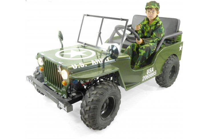 Jeep enfant 125cc 3 vitesses + marche arrière