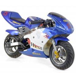 Moto électrique Pocket Piste GP enfant électrique 350W