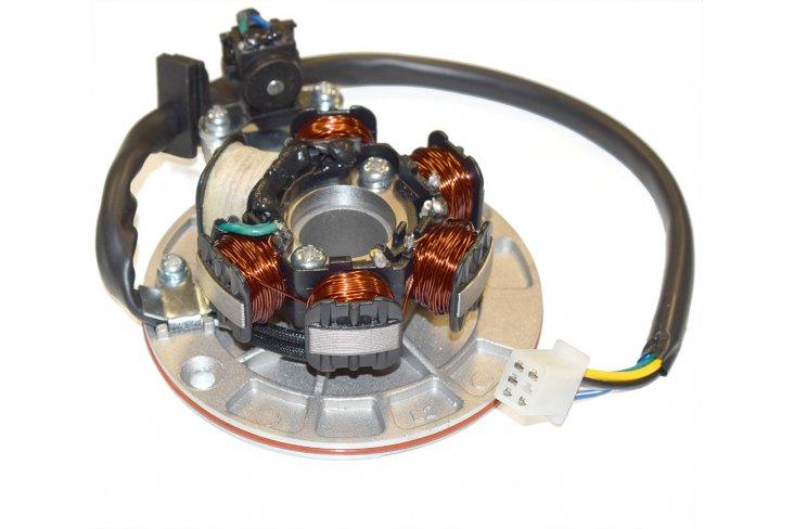 Stator 6 bobines mâle + support