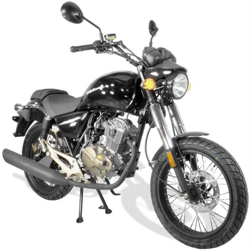 moto 125 chopper