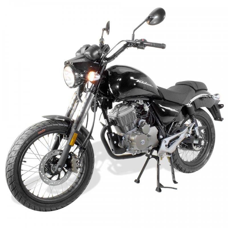 moto chopper 125cc homologu kiden kd125 m. Black Bedroom Furniture Sets. Home Design Ideas