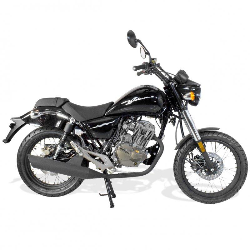 moto chopper 125cc homologu kiden kd125 m euroimportmoto dirt bike quad enfants. Black Bedroom Furniture Sets. Home Design Ideas