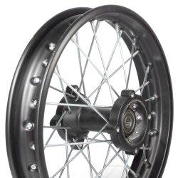 """Pièces Dirt bike Roue arrière dirt 14"""" entraxe 70mm/65mm"""