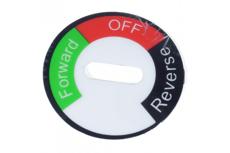Sticker inverseur pocket quad