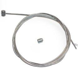 Pièces quad et Buggy Câble frein 2 mètres nu + serre câble