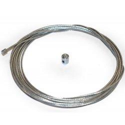 Pièces quad et Buggy Câble accélérateur 2,5 mètres + serre câble