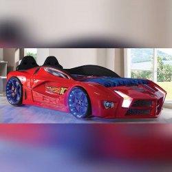 Lit voiture Lit voiture enfant LEDs Luxury