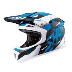 Casques Cross Adulte Casque Adulte Shot Furious Splinter Bleu