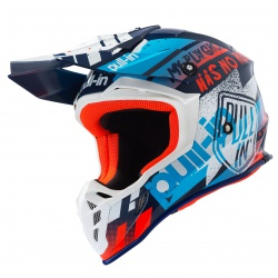 CASQUE ADULTE PULLIN - TRASH NAVY ORANGE