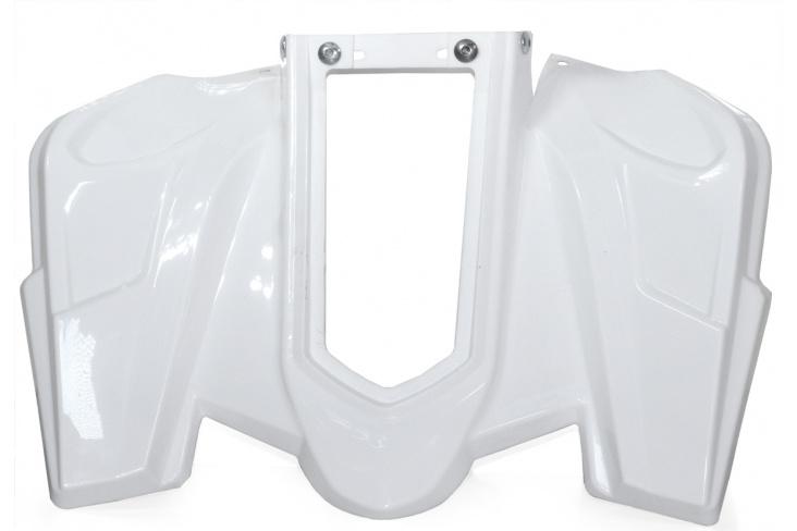 Carénage arrière pocket quad blanc