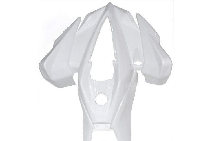 Carénage pocket quad LUXE face avant blanche