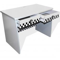 Bureau enfant 2 tiroirs banc