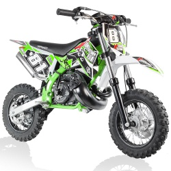 50cc 2T - 60cc 4T - 70cc 4T - Mini moto cross enfant Mini moto dirt bike cross enfant 50cc 2T Roues 10/10