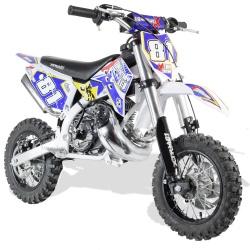50cc 2T - 60cc 4T - 70cc 4T - Mini moto cross enfant Mini cross enfant 50cc 2T 10/10 fourche inversée