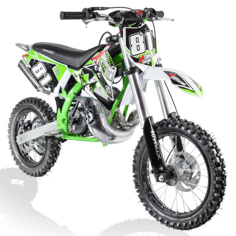 Moto Cross Enfant 50cc 2t 3 5cv 14 12 Racing