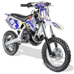 50cc Dirt Bike et Moto Cross enfant Moto cross enfant 50cc 2T Roues 14/12