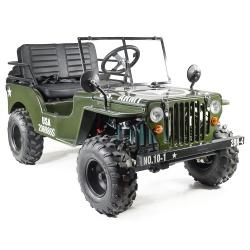 Jeep - Tracteur Jeep enfant électrique
