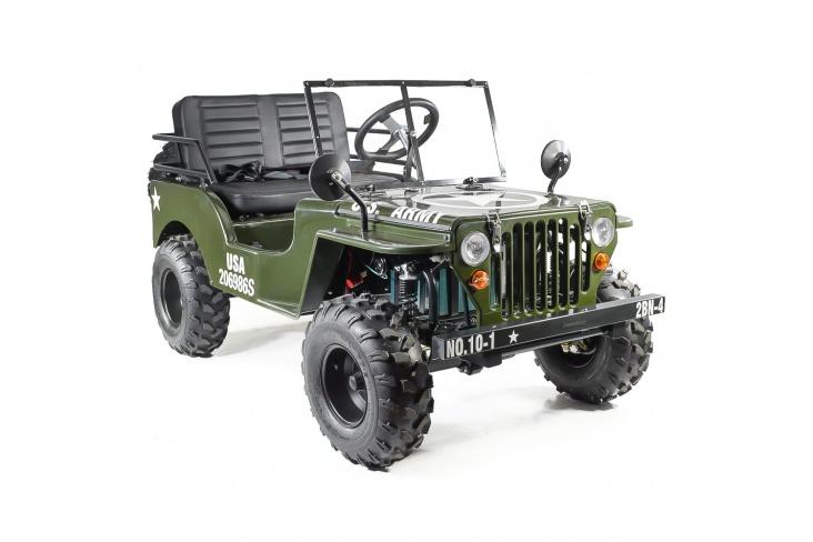 Jeep enfant électrique